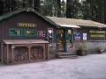 Office and camp store at the Emerald Forest of Trinidad