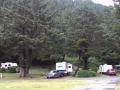 Back-In campsites on Loop-B at Humbug Mountain campground