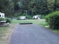 Back-In campsites on Loop-A at Humbug Mountain campground