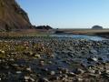 Where Bush Creek meets the Pacific Ocean...