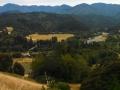 Vista along the Lost Coast scenic drive