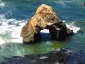 Sea arch on Mendocino Coast