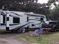 Our rig at the Manchester Beach / Mendocino Coast KOA
