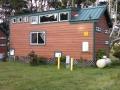 Rental cabin at the Manchester Beach / Mendocino Coast KOA