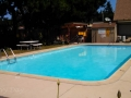 Swimming pool and spa at the Manchester Beach / Mendocino Coast KOA