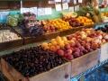Fruit stand at Petaluma