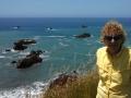 Kim at Bodega Bay