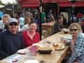 Kim & friends at Lagunitas Brewery patio