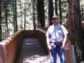 Jerry at Lady Bird Johnson Grove Redwoods