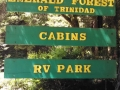 Emerald Forest of Trinidad Sign