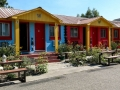 Colorful Lost River Motel at Arco