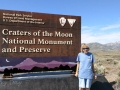 Kim at Craters of the Moon National Monument