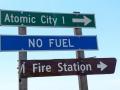 Atomic City Sign