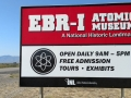 EBR-1 Sign