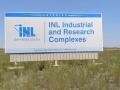 INL - Idaho National Laboratory Sign