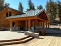 Bristlecone Pine Visitor Center - completely rebuilt after an arsonist burned the old center a few years back.