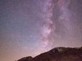 Milky Way over eastern Sierras at Horton Creek