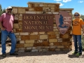 Kim & Jerry at Hovenweep National Monument