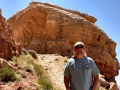 Jerry at the Moki Dugway