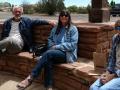Joyce, Paul & Kim at the Edge of the Cedars Museum, Blanding, Utah