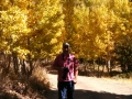 Jerry in Aspen grove at Green Creek