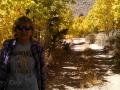 Kim in Aspen grove at Green Creek