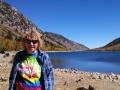 Kim at Lundy Lake