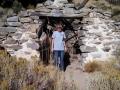 Kim at the Masonic Mine ruins