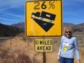 Steep grades ahead in the Sonora Pass - Kim