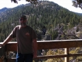 Jerry at overlook in the Sonora Pass