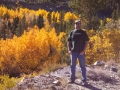 Jerry at Aspen grove in the Tioga Pass