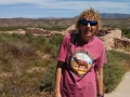 Kim at Tuzigoot National Monument