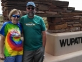 Kim & Jerry at Wupatki National Monument