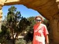 Kim at Dutchman Arch, San Rafael Swell, Utah