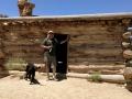 Jerry at Swasey Cabin, San Rafael Swell, Utah