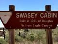 Swasey Cabin Sign, San Rafael Swell, Utah