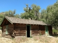 Abandoned ranch house at Cottonwood Glen Picnic Area, Nine Mile Canyon