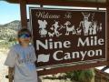 Kim at Nine Mile Canyon