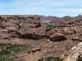 The Wedge overlook vista - San Rafael Swell