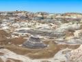 Blue Mesa Badlands at Petrified Forest National Park