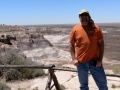 Jerry at Petrified Forest NP