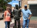 Jerry & Kim just standin' on the corner...