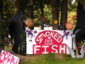 Smoked fish & Bigfoot at La Push