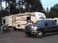 Our rig at the Quileute Oceanside Resort, La Push