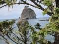 Rocky islands at La Push