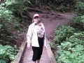 Mom on trail to Second Beach at La Push