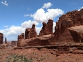 The Marching Men at Arches National Park