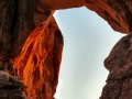Sunset at Double Arch, Arches National Park
