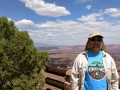 Jerry at Canyonlands National Park