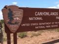 Kim at Canyonlands National Park